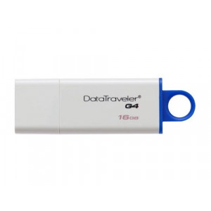 KINGSTON fleš 16GB DT USB 3.0 DTIG4/16GB beli