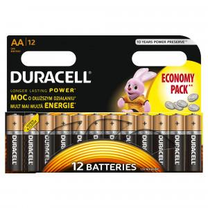 DURACELL baterije basic AA 12kom duralock 508117