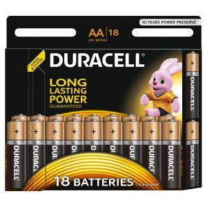 DURACELL baterije basic AA 18 kom duralock 508206