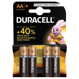 DURACELL baterije basic AA 4kom duralock 508188