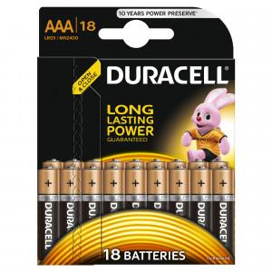 DURACELL baterije basic AAA 18 kom duralock 508205