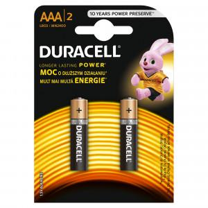 DURACELL baterije basic AAA 2kom duralock 508186