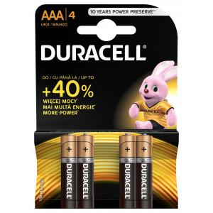 DURACELL baterije basic AAAA 4kom duralock 508180