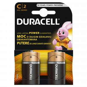 DURACELL baterije basic  C 2 kom duralock 508179