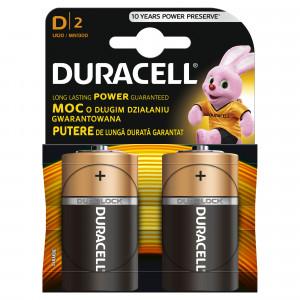DURACELL baterije basic  D 2 kom duralock 508178
