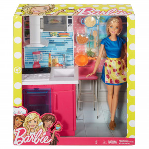 BARBIE set sa nameštajem MADVX51