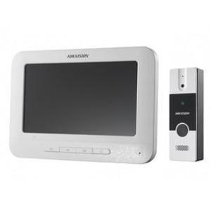 HIKVISION Analogni video interfonski set pozivna tabla i monitor DS-KIS202 4821