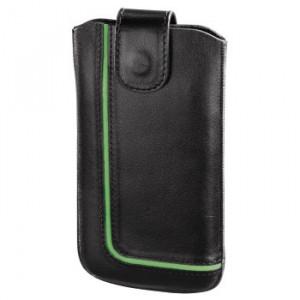 HAMA futrola za mobilni NEON BLACK (Lenovo S820), kožna (126913)