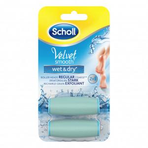 SCHOLL Velvet Smooth Wet&Dry zamenske glave za turpiju 410251