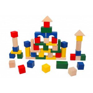 PINO Kocke blokovi (50 komada) 7814