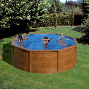 PONTAQUA WOOD D porodučni bazen 3,5x1,2m FFA 730