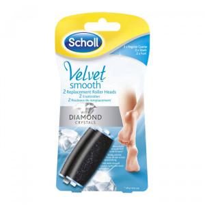 SCHOLL refil za električnu turpiju Velvet Smooth sa dijamantima 410229