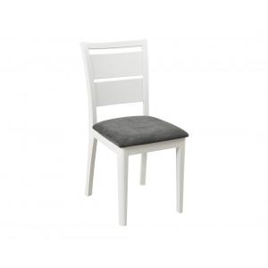MATIS Trpezarijska stolica Gradel - Belo FIS006