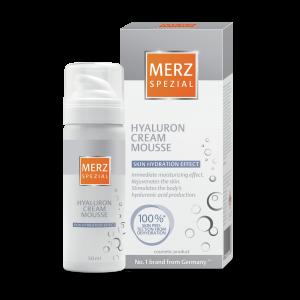 MERZ SPEZIAL mousse hijaluron + gratis 10x Merz deep relax maske 2x5ml