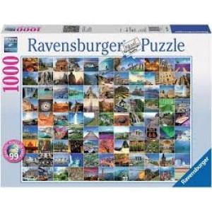RAVENSBURGER puzzle - 99 lepih mesta na zemlji RA19371