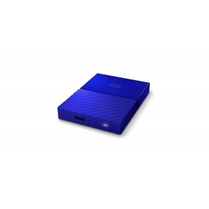 WESTERN DIGITAL eksterni hard disk My Passport blue 4TB