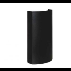 CC-02 B  kanalica 178 x 82 mm, ravna, crna boja  498