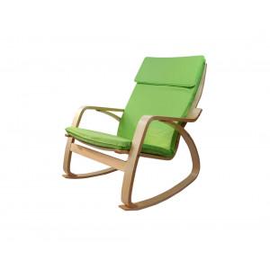 MATIS stolica za ljuljanje ROCKER - ZELENO FOR037