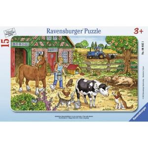 RAVENSBURGER puzzle (slagalice) - Farma RA06035