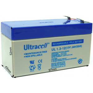 ULTRACELL akumulator 1.3Ah/12V 1746