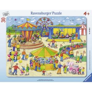 RAVENSBURGER puzzle - na karnevalu RA06636