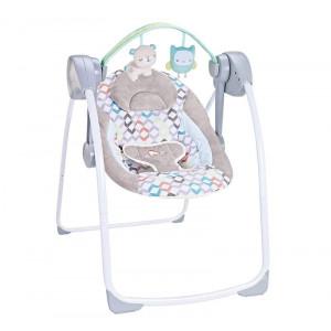 Chipolino Električna ljuljaška za bebe FELICITY LION 710415