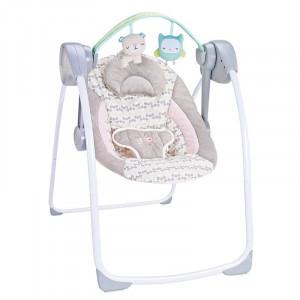 Chipolino Električna ljuljaška za bebe FELICITY BIRD 710414