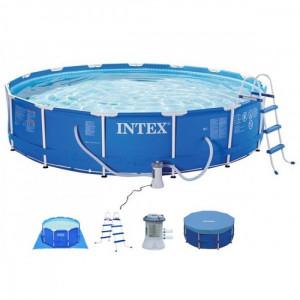 INTEX bazen 4.57 X 1.07 ***M2sa metalnom konstrukcijom PRISM FRAME 26724