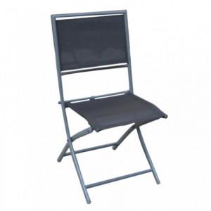 LIPARI stolica za baštu crna 051112