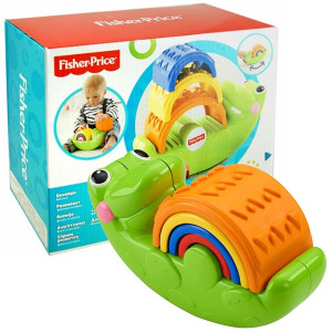FISHER PRICE krokodil piramida 18088