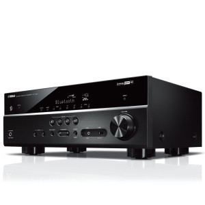 YAMAHA audio/video risiver RX-V485 Black