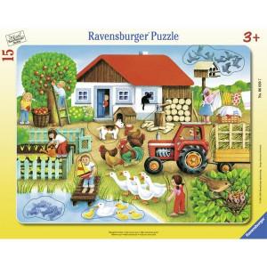 RAVENSBURGER puzzle (slagalice) - Šta gde staviti RA06020