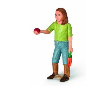 SCHLEICH igračka Devojka hrani 13464