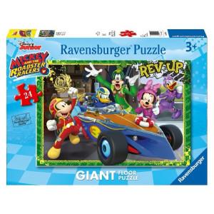 RAVENSBURGER puzzle (slagalice) - Miki Maus u formuli RA05524