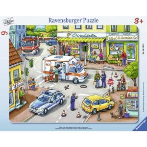 RAVENSBURGER puzzle - uzbuna u gradu RA06131