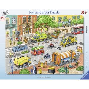 RAVENSBURGER puzzle - život u gradu RA06135