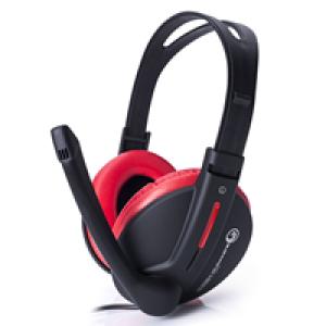 Slušalice Marvo H8312 gejmerske sa mikrofonom crno/crvene 006-0275
