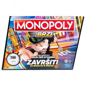HASBRO Brzi Monopol 31794