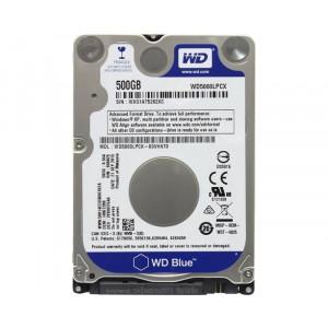 """WD 500GB 2.5"""" SATA III 16MB 5.400rpm wd5000lpcx blue hdd01961"""