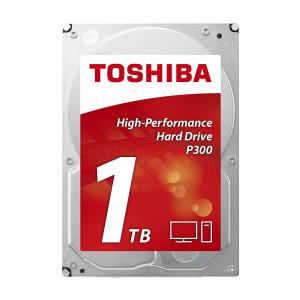 TOSHIBA hard disk HDD P300 - Desktop PC Hard Drive 1TB HDWD110EZSTA