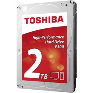 TOSHIBA hdd p300 - desktop pc hard drive 2tb, interni hard disk hdwd120ezsta