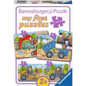 RAVENSBURGER puzzle - moje prve puzle, 4 u 1, om RA06946