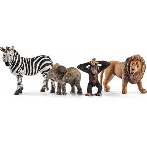 SCHLEICH Set nekoliko zivotinja iz divljine 42387