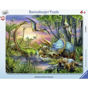 RAVENSBURGER puzzle - mirni dinosaurusi RA06633