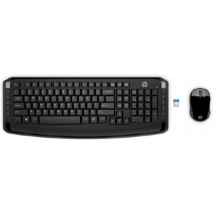 HP Wireless Keyboard & Mouse 300, 3ML04AA
