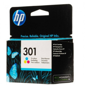 HP ketridz za štampač no.301 tri-color ink cartridge za deskjet 1000/1050/2000/2050/3000/3050  ch562ee