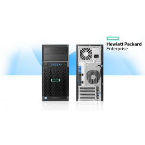 HP Server HPE ML30 GEN9 E3-1220V6 8GB NHP 2x1Gb 350W