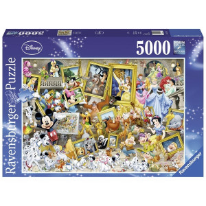 RAVENSBURGER puzzle - Razni Diznijevi junaci 5000 RA17432