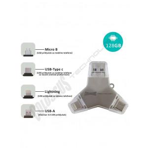 MULTI USB i DRAGON 4 u 1 U016A 128GB COLOSSUS