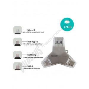 MULTI USB i DRAGON 4 u 1 U016A 32GB COLOSSUS